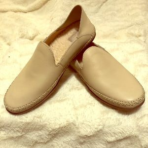 UGG Tan Loafers Size 8